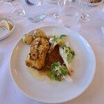 Dagen stegte fisk på menuen