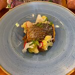 Stone Bass, also enhanced with wonderful flavours