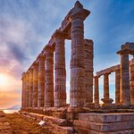Cape Sounion and Temple of Poseidon Half-Day Small-Group Tour from Athens