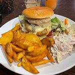 Chicken & Haggis Burger