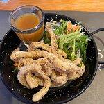 Salt and peper lemon squid