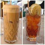 Iced Cappucino (圖左) / 凍檸檬茶(圖右)