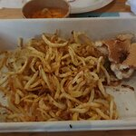 Kyllingburger og fries