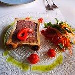 Pate and foie gras