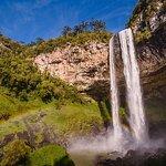 Foot of Cascata Explorer - By Brocker Turismo