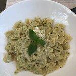 Pasta with truffle cream
