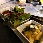 Salat mit genialem Pesto