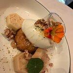 Honig-Kefir-Eis / Honig Sponge / Honigküchlein / Yoghurt Cotta / Honig Gel