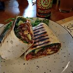 """May be """"green"""" but it's a burrito. Won't go hungry after this one."""