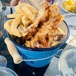 Kubeł z owocami morza w tempurze :)