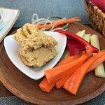 Appetizer (humus dip)
