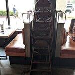 Stack of Highchairs at Broth Shabu-Shabu.