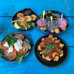 Brunch small plates