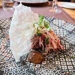 Korean steak tartare, Restaurant Indigo, Mariehamn
