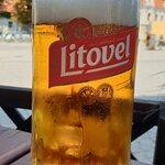 piwo Kousek (w szklance Litovela)