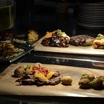 board with meat that you can share with friends