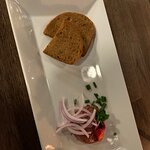 Veal tartar, was great,