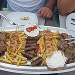 Local plate for 2 persons... or even 3 :D