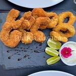 entrada de camarão com lulas (148 reais)