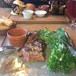 Steak cooked to order, Graet Burger