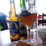 Galette de chorizo, cerveza y sidra