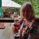 Auch der Wein ist hier sehr gut