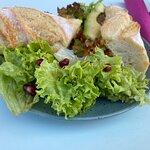 Veganer Sandwich