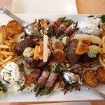 Chateaubriand-Platte, sehr zu empfehlen, wie alle Speisen