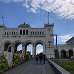 Bayerischer Bahnhof Foto