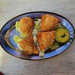 Teigtaschen Samosa - vegetarisch gefüllt