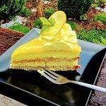 citronový dortík