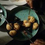τυρομπουκίτσες με μαρμελάδα ελιάς κάθε μπουκιά κ ένας ήχος απόλαυσης !!!