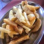 Y unas patatas fritas para pecar