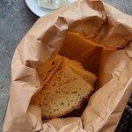 Brot und Aioli vom Haus