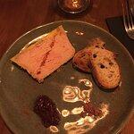 foie gras et confit d'oignons