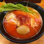 極辛鶏白湯ラーメン 味玉付き