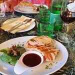 Chicken Tortilla and Croque Monsieur