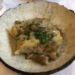 Gołąbki z mięsem wieprzowym i sosem borowikowym - tastes better than it looks and the star of th