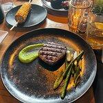 Biefstuk van de grill