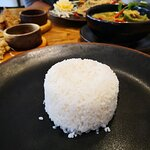 Rice for the curry