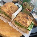 Delicious sandwiches!