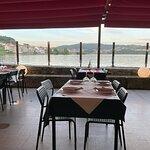 Terraza restaurante Pedramar (Combarro-Galicia)