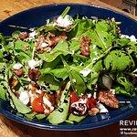 Sirin free range chicken, goat's cheese, green apple and caramelized walnut salad
