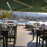 Αποψη του χώρου του εστιατορίου