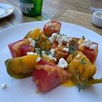 Heirloom Tomato and Watermelon Salad