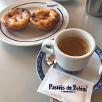 Pasteis and espresso