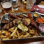 Meat platter minimum for 2