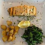 Grilled Salmon Custom