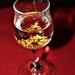 Goldwasser. An after dinner liqueur for which Gdansk has made famous.