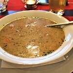 Poland is known for it's Zurek/white borscht/sour white soup. This was favorable with its rich s